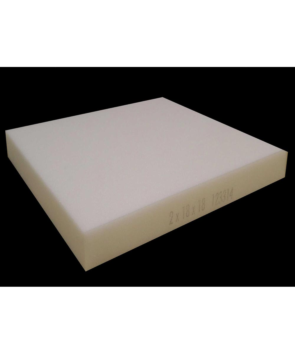 2 in. x 18 in. x 18 in. Square Polyurethane Foam