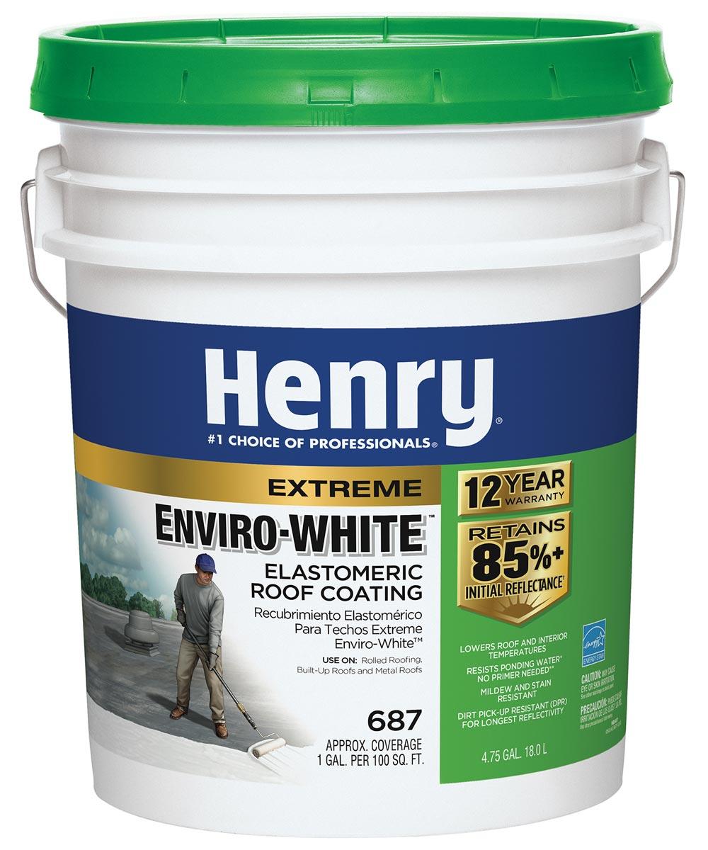 4.75 Gallon White Extreme Enviro-White Roof Coating