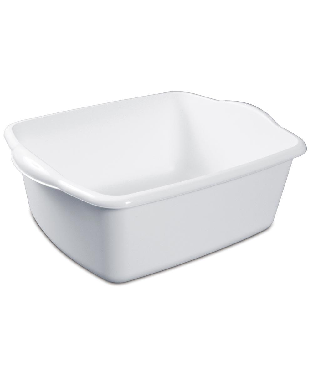 12 Quart White Dishpan