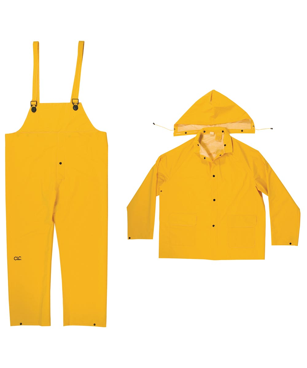 3 Piece PVC Large Rain Suit