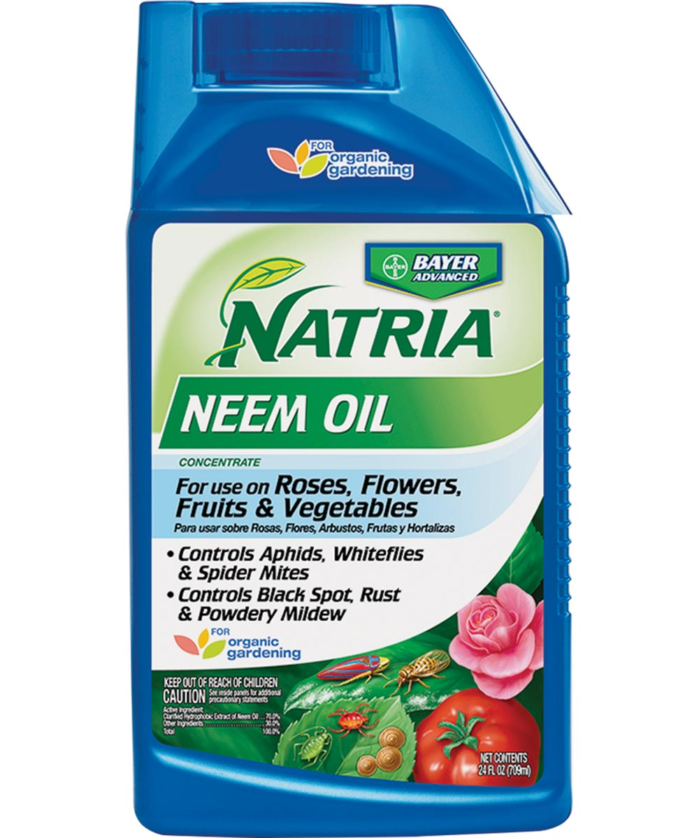 Natria Neem Oil for Roses, Flowers, Fruits, & Vegetables, 24 oz. Concentrate