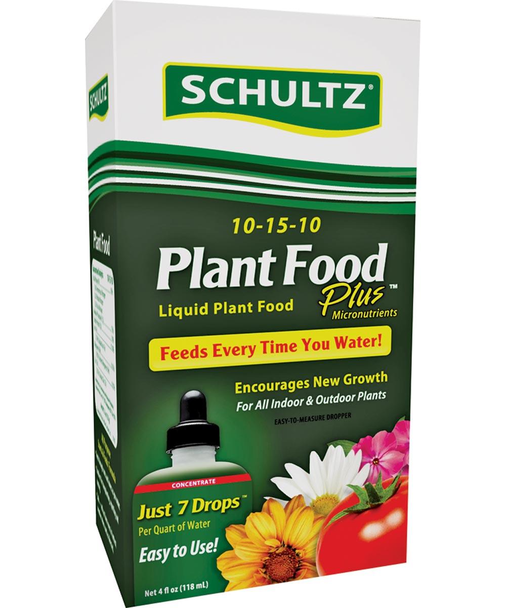 Schultz All-Purpose Fast Release Plant Pood, 4 oz., Bottle, Light Blue, Liquid