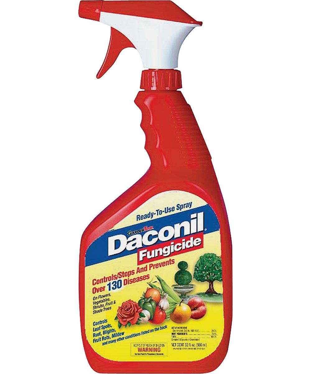 Daconil Garden Fungicide, 32 oz. Ready-to-Use Spray