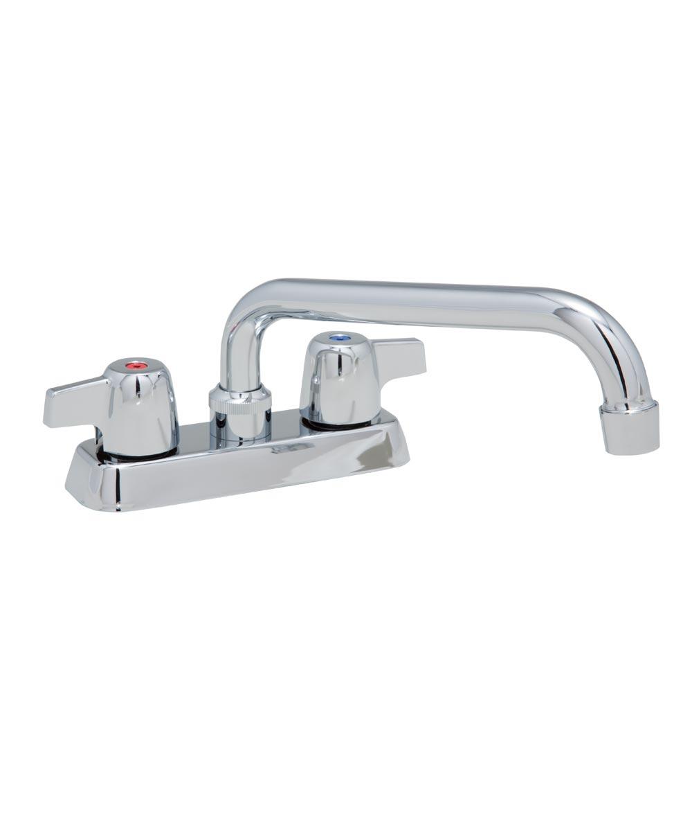 2-Handle Metal Handle Laundry Faucet, Chrome