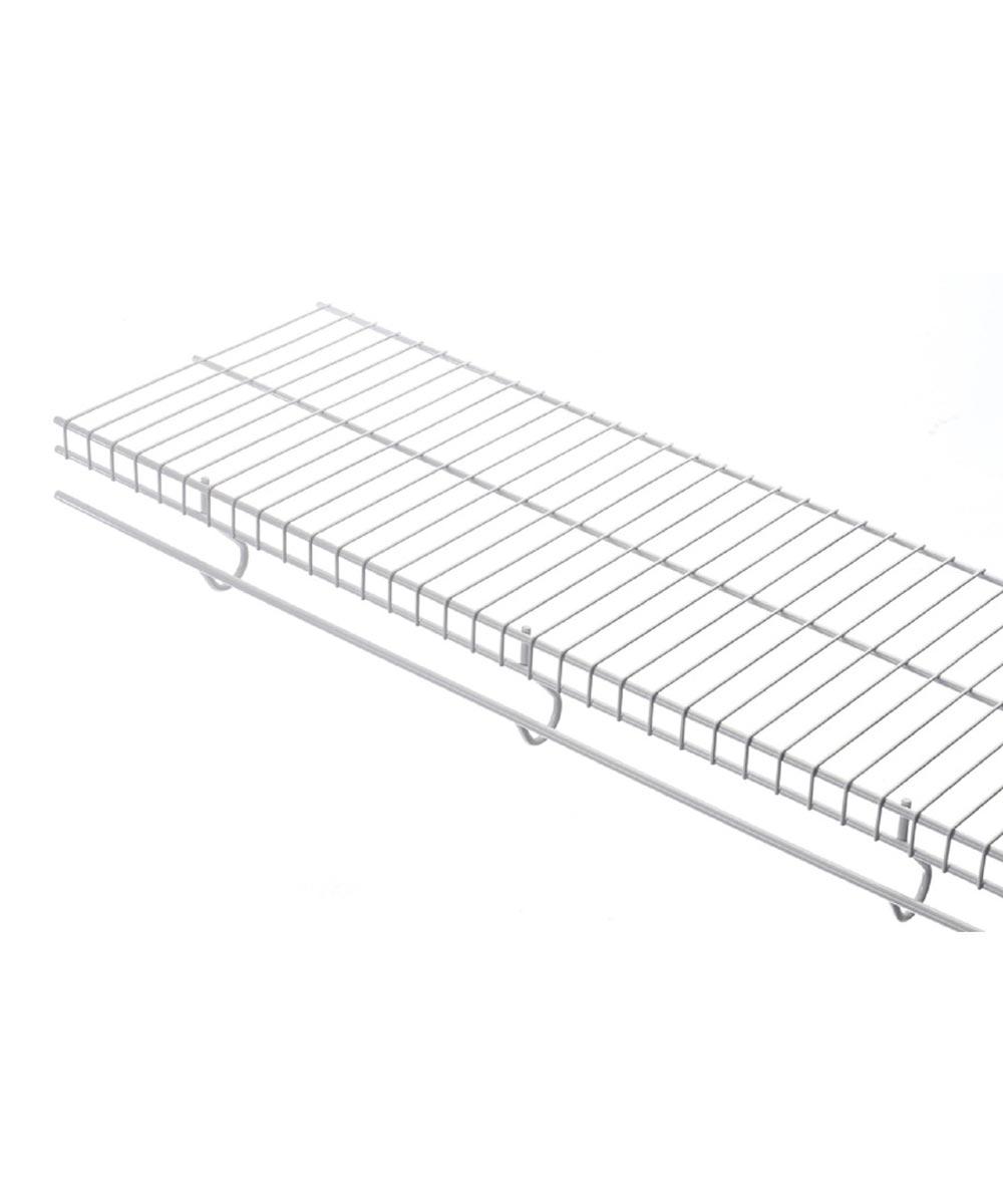 Rubbermaid 4 ft. x 12 in. White Freeslide Shelf Kit