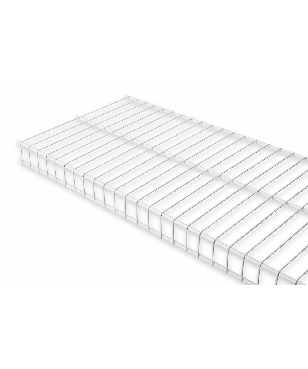 Rubbermaid 2 ft. x 12 in. White Linen Shelf Kit