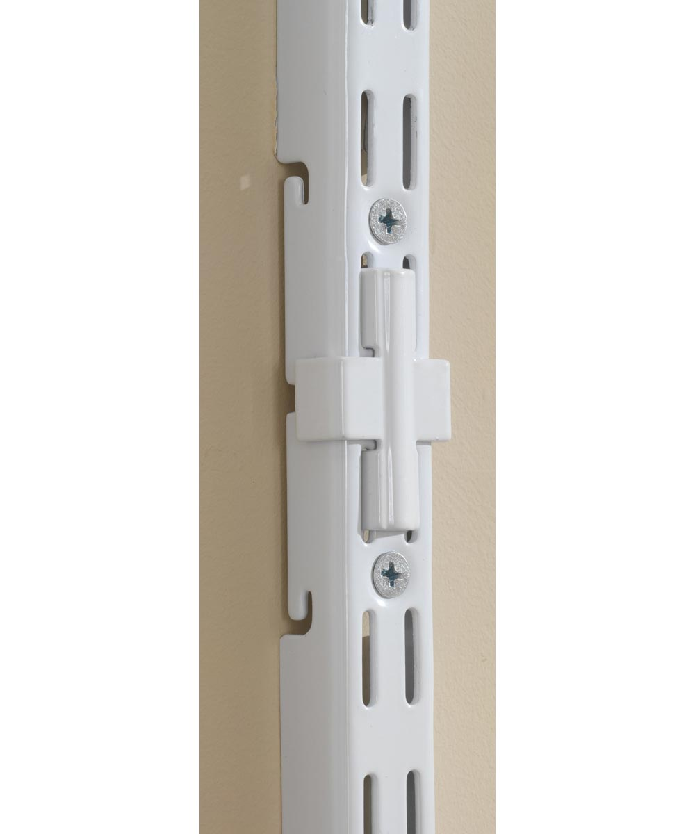 Rubbermaid Configurations Extension Rail Kit White
