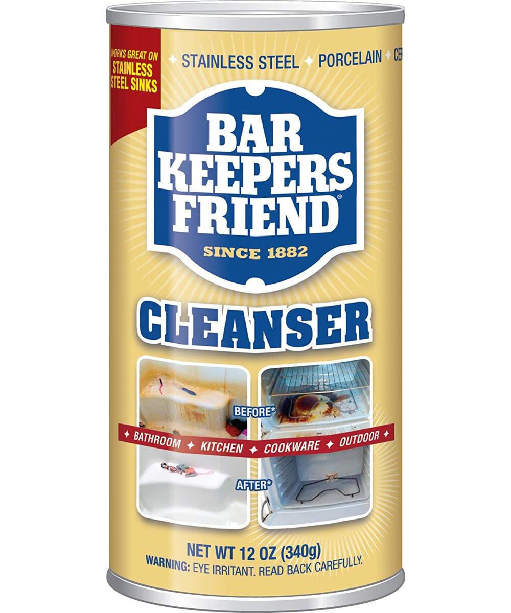Bar Keepers Friend Cleanser, 12 oz.
