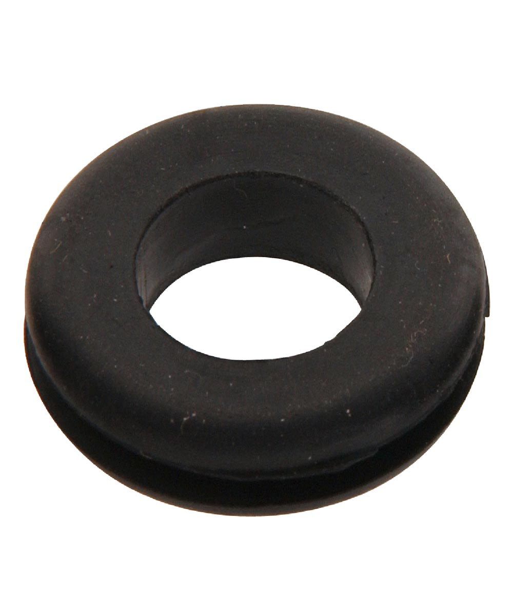 Grooved Rubber Grommet (5/8 in. Inner Dia. x 1-1/8 in. Outer Dia. x 5/16 in. Thick) - (Assortment #98065)