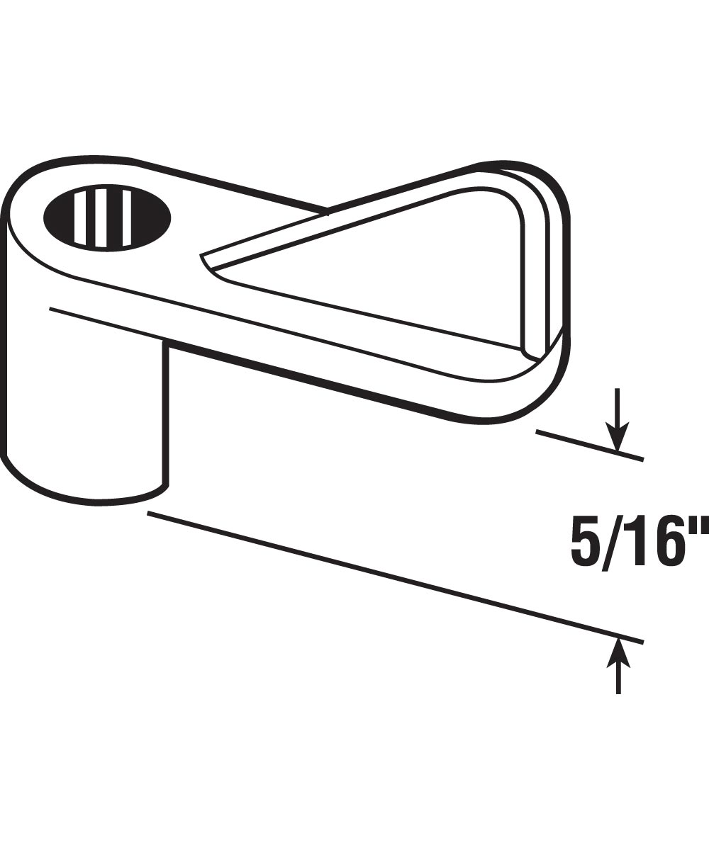 L 5829 Screen Clips with 1-Inch Special Machine Screws, 5/16-Inch, Grey,(Pack of 8)