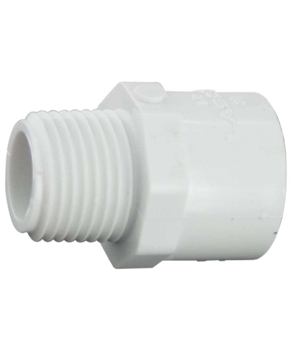 1/2 in.x 3/4 in.  PVC Male Adapter, M x S