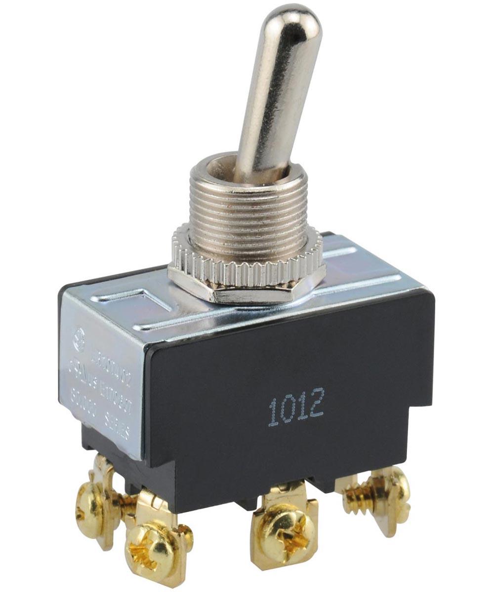 DPDT Center Off Toggle Switch (20 Amp-125 Volt x 10 Amp-277 Volt)