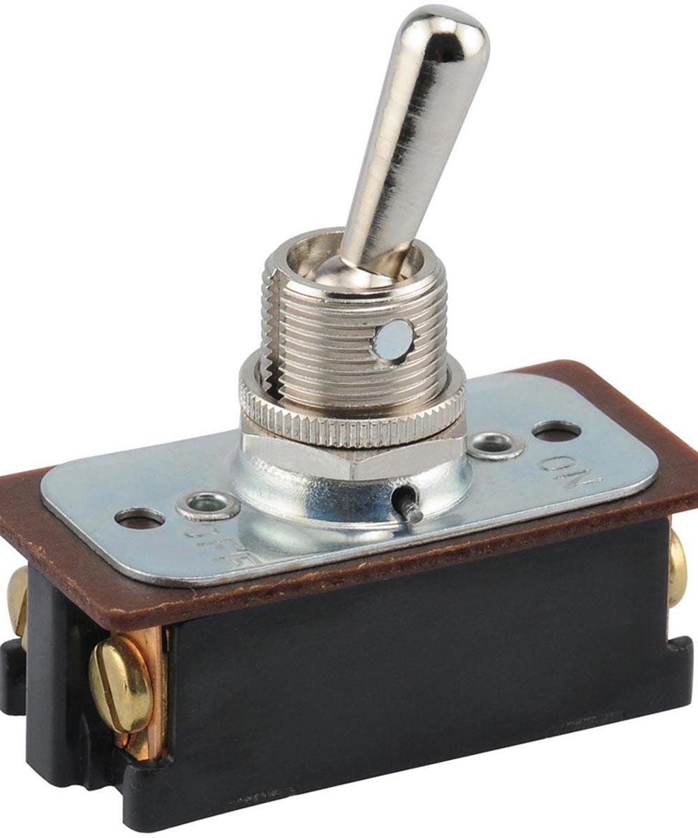 DPST Toggle Switch (16 Amp-125 Volt x 8 Amp-250 Volt)