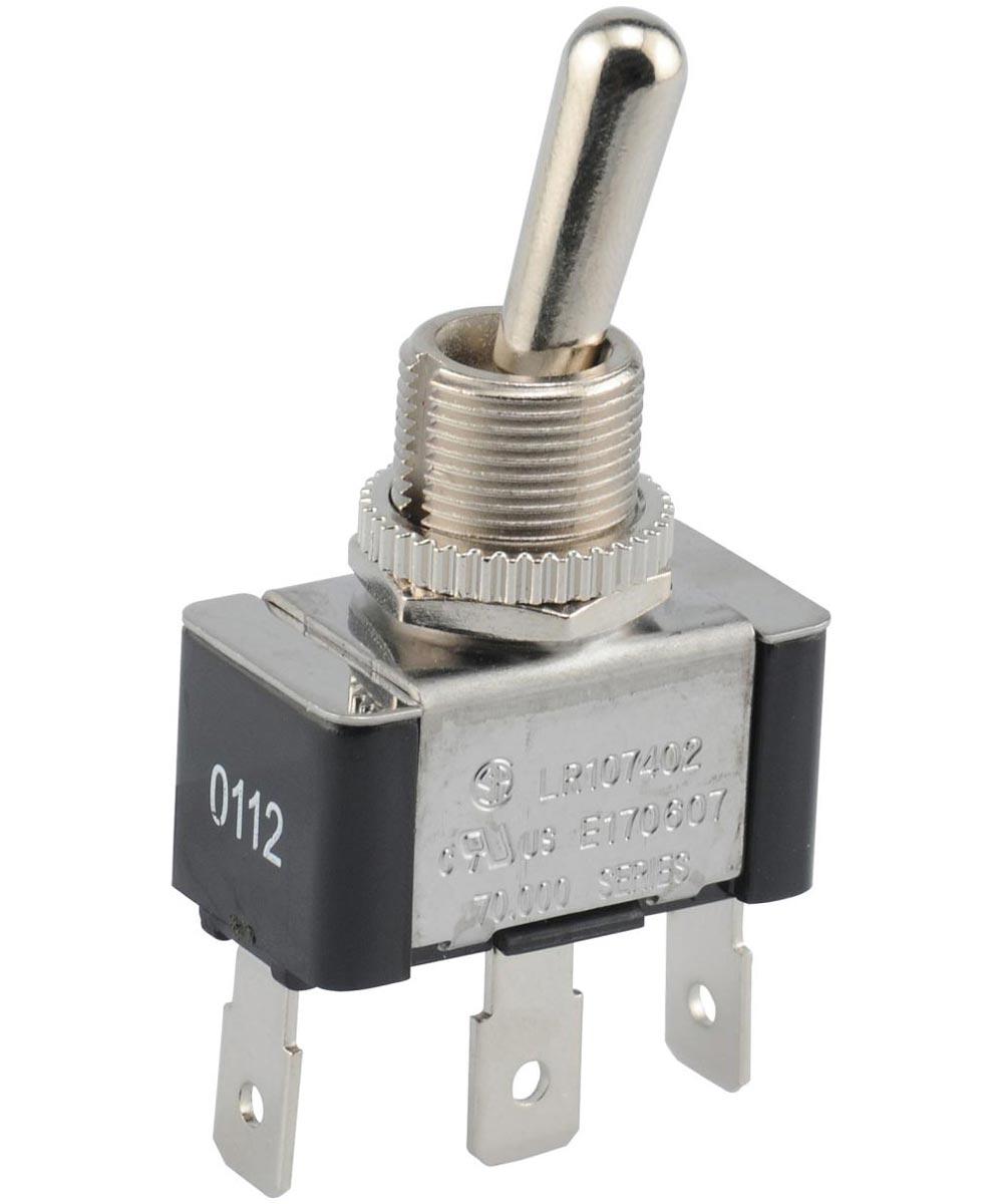 SPDT Center Off Quick Connect Terminal (20 Amp-125 Volt x 10 Amp-277 Volt)