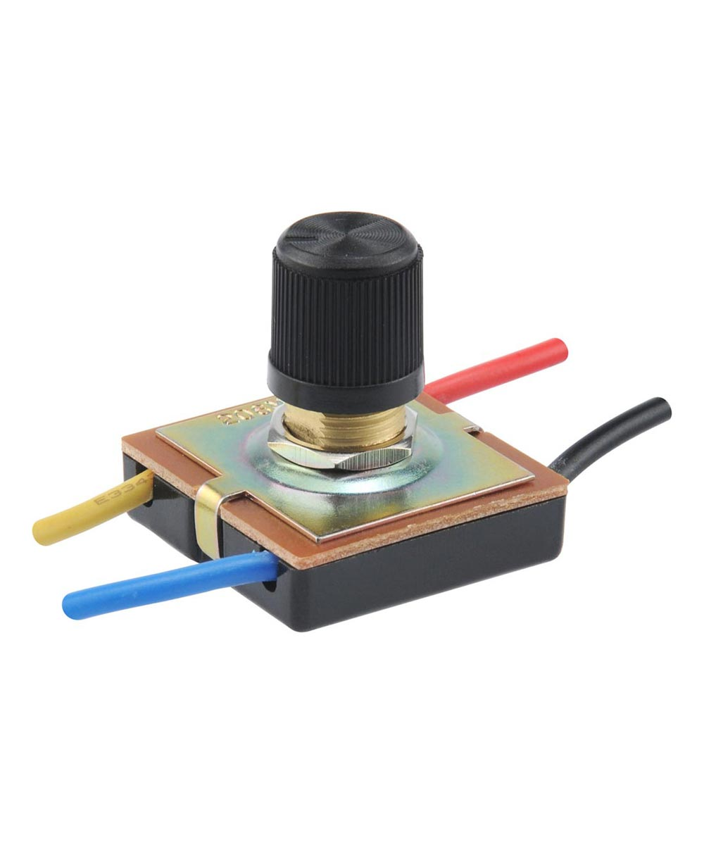 3-Speed Rotary Switch w/ Leads (4 Amp-125 Volt)