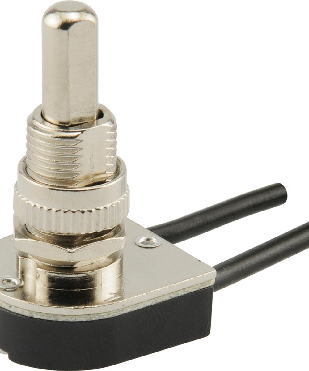 On/Off Heavy Duty Push Switch (6 Amp-125 Volt x 3 Amp-250 Volt)