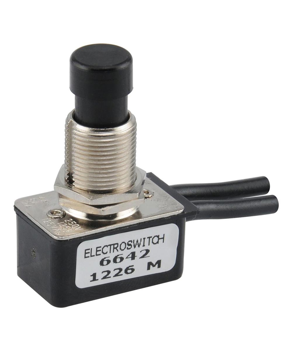 On/Off Motor Push Switch (12 Amp-125 Volt)