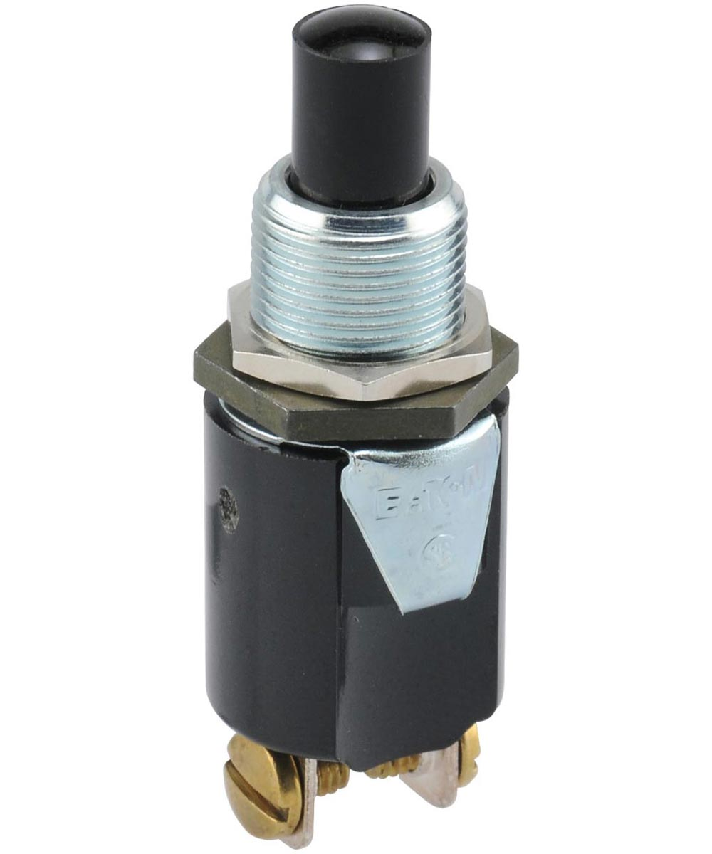 Normally Off Screw Terminal Momentary Switch (3/4 Amp-125 Volt x 1/4 Amp-250 Volt)