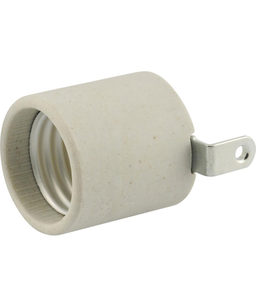 Deep Drawer Porcelain Socket with Bracket Screw Terminal