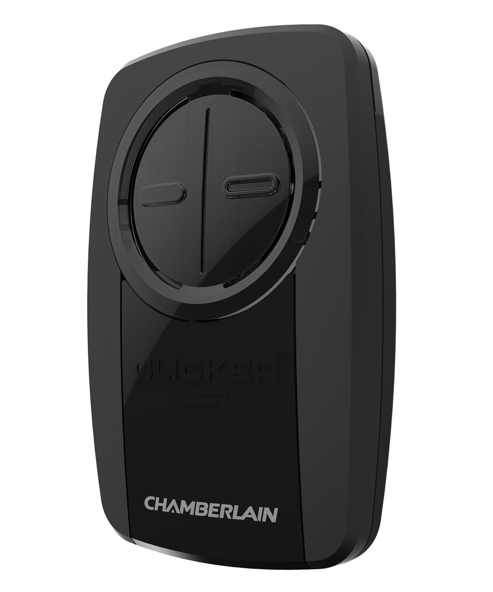 Black Universal Garage Door Remote