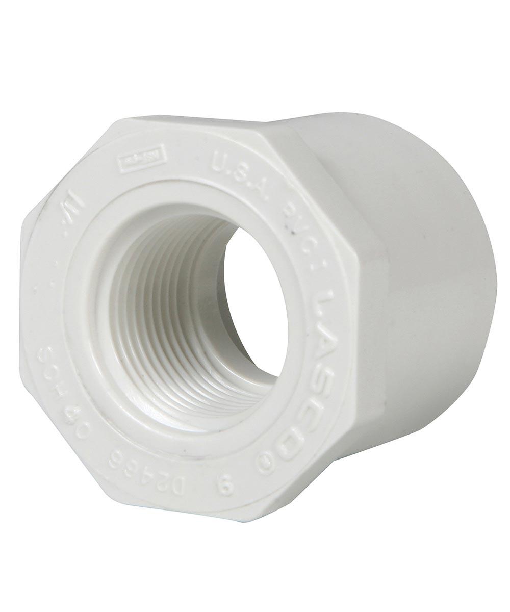 1-1/2 in. x 1/2 in. PVC Bushing, S x F