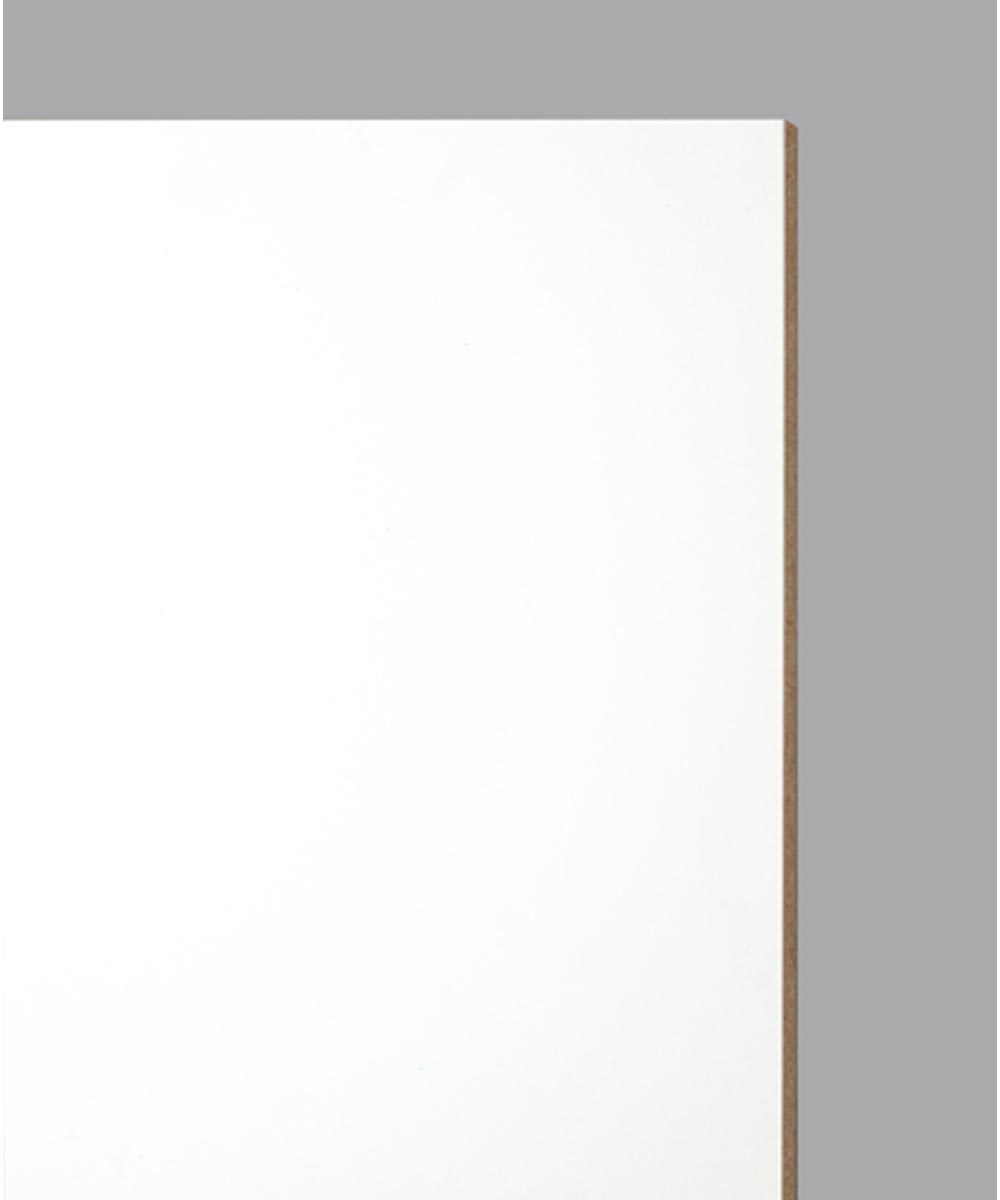 Shelf Melamine 3/4 in. x 12 in. x 96 in., White