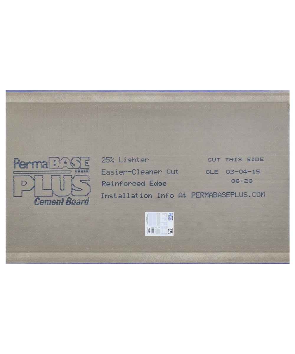 PermaBase Cement Backer Board, 60 in. L x 36 in. W