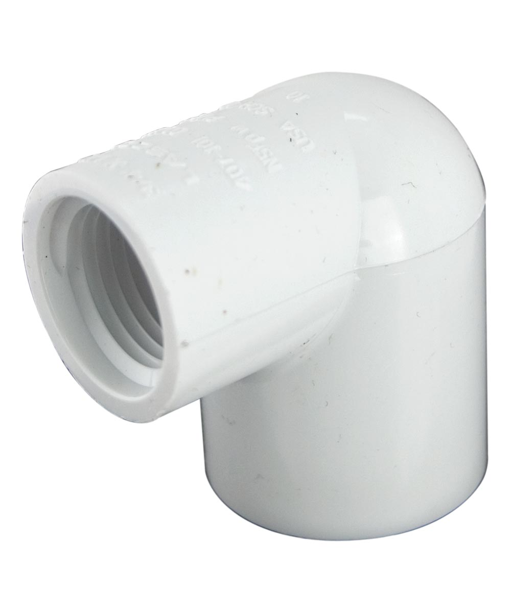 1 in. PVC 90 Degrees Elbow, S x F