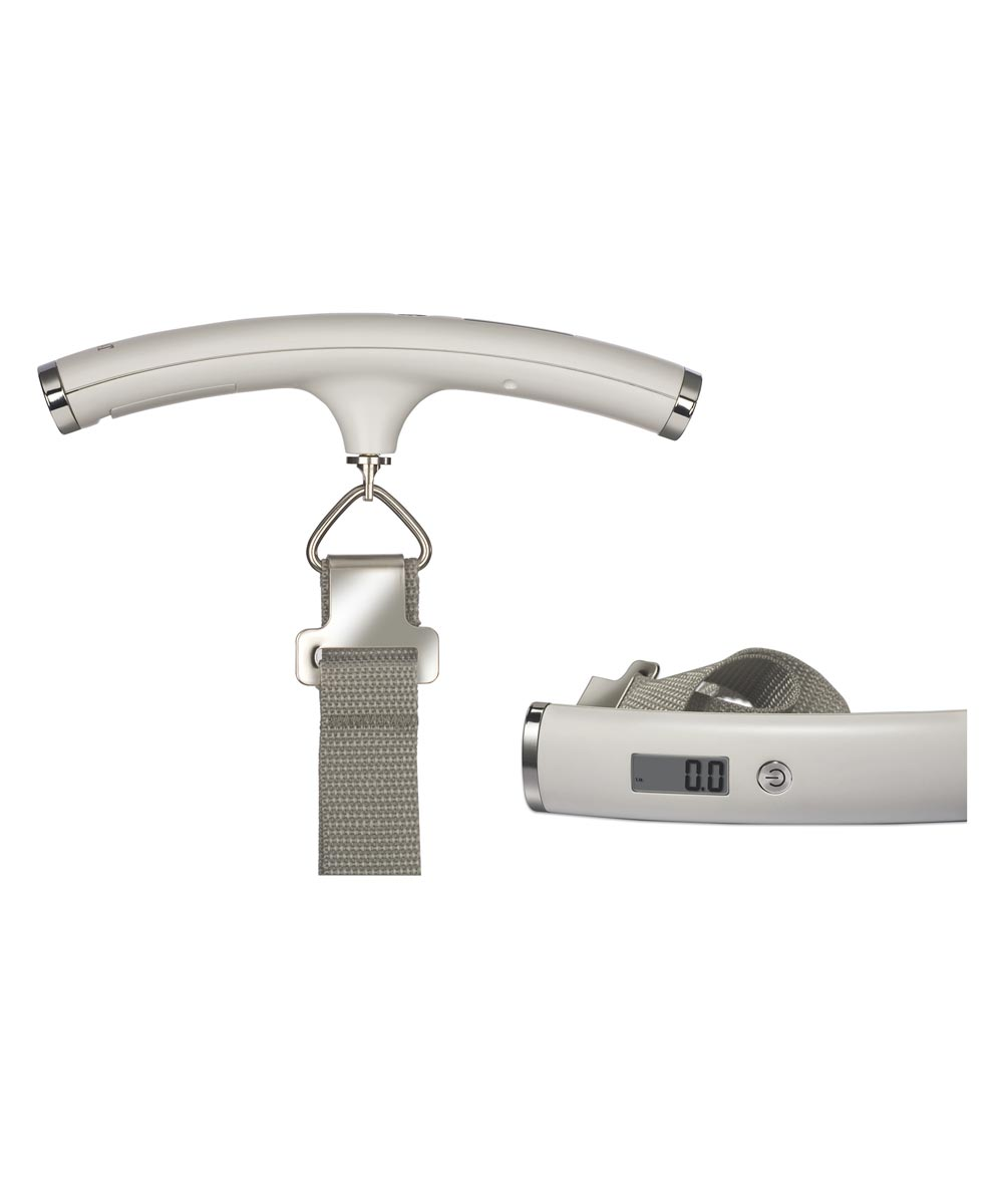 5.5 in. x 3 in. White Digital Luggage Scale