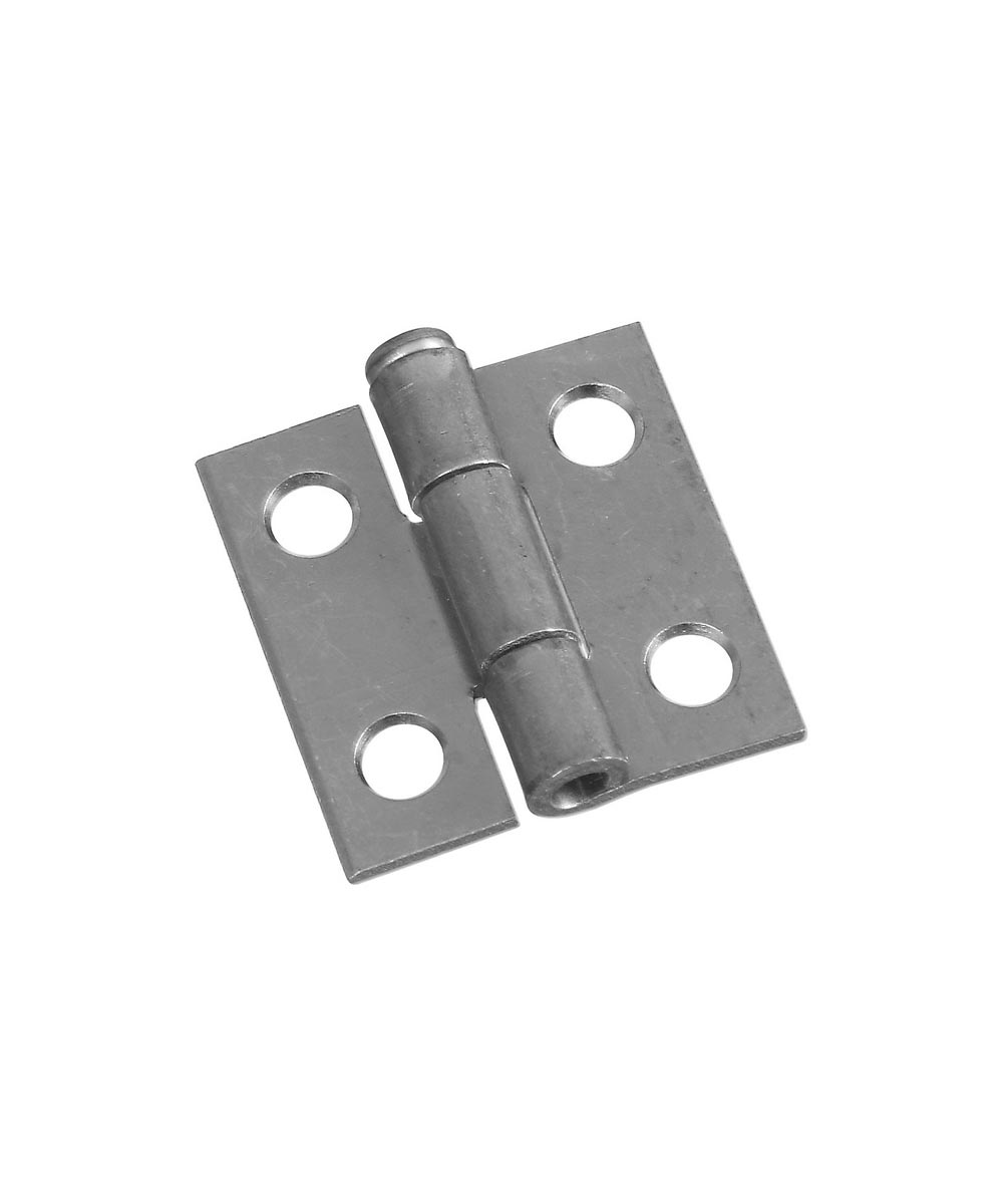 Removable Pin Hinges 1 in.  Zinc Plated, 2 Pack