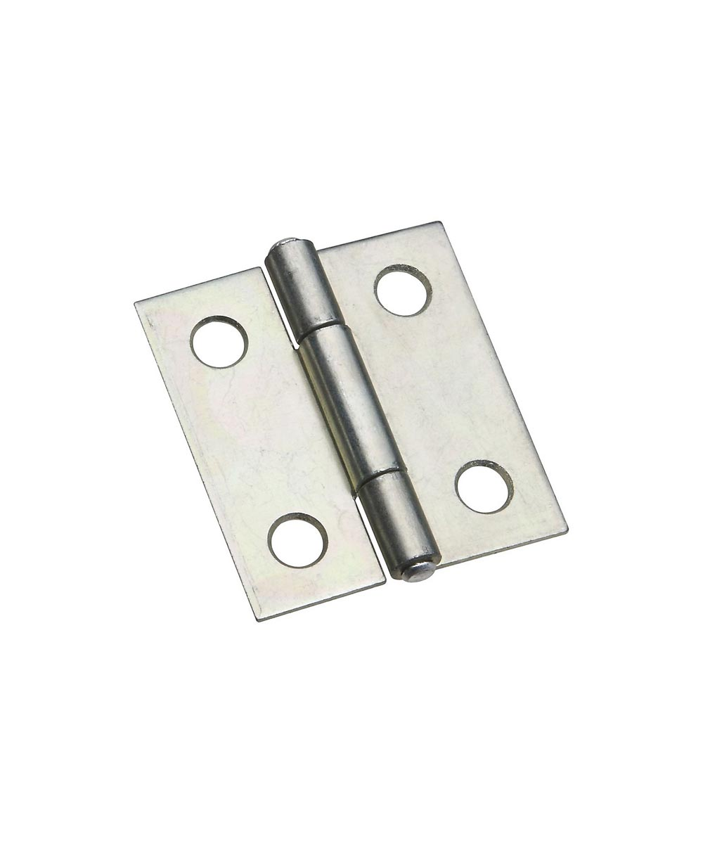 Narrow Hinges 1-1/2 in. Zinc Plated, 2 Pack