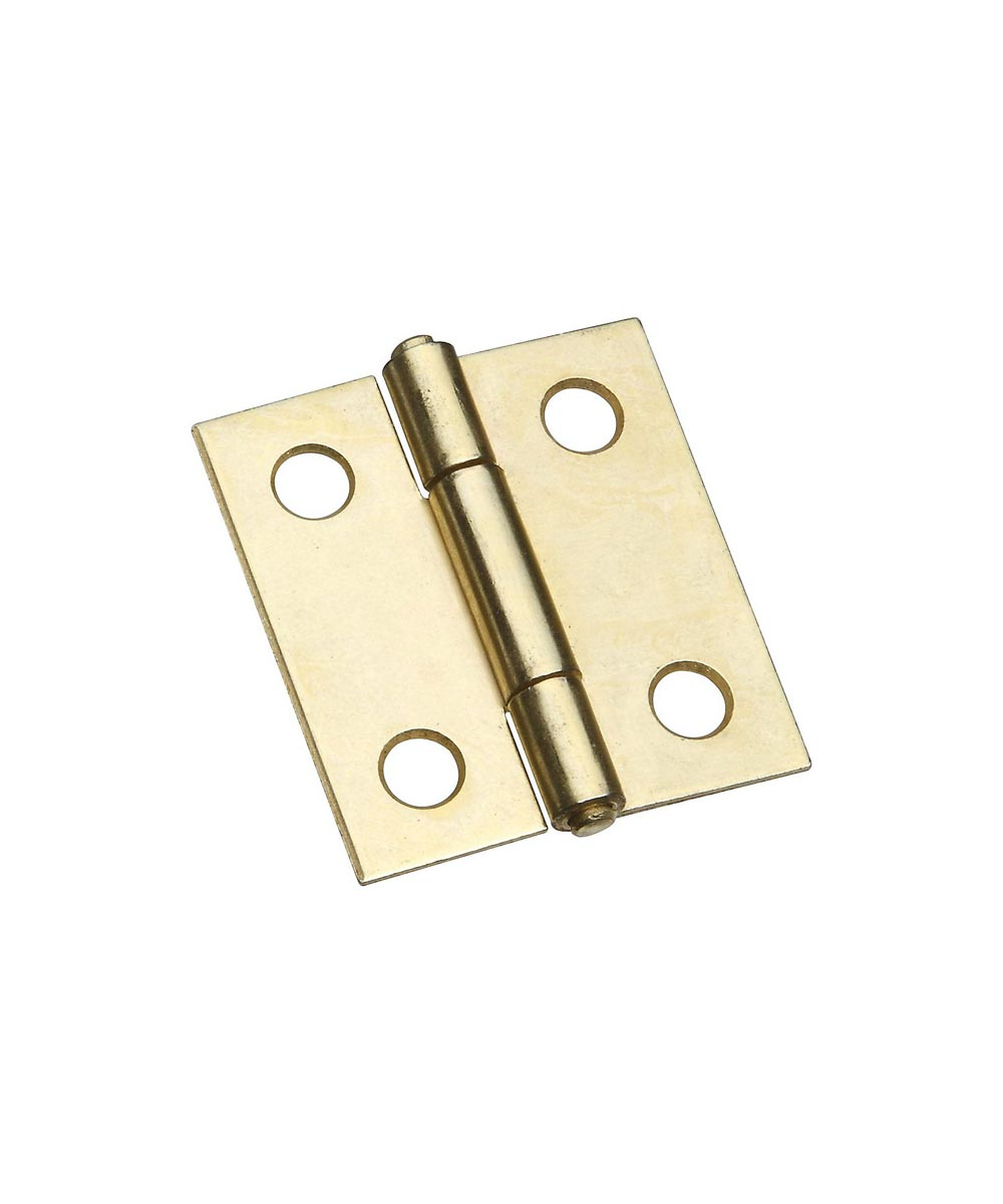 Narrow Hinges 1-1/2 in. Brass