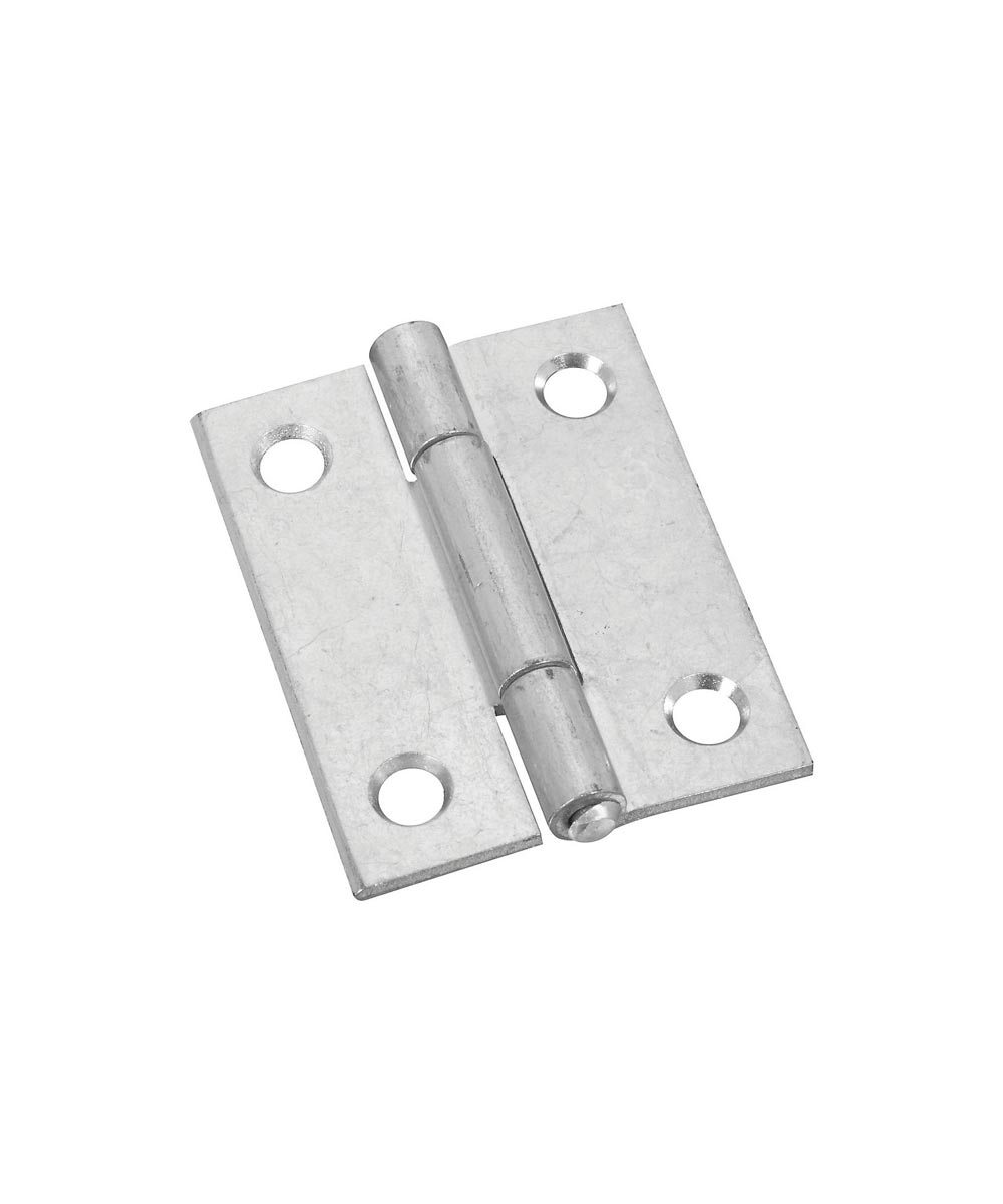 Narrow Hinges 2 in. Zinc Plated, 2 Pack