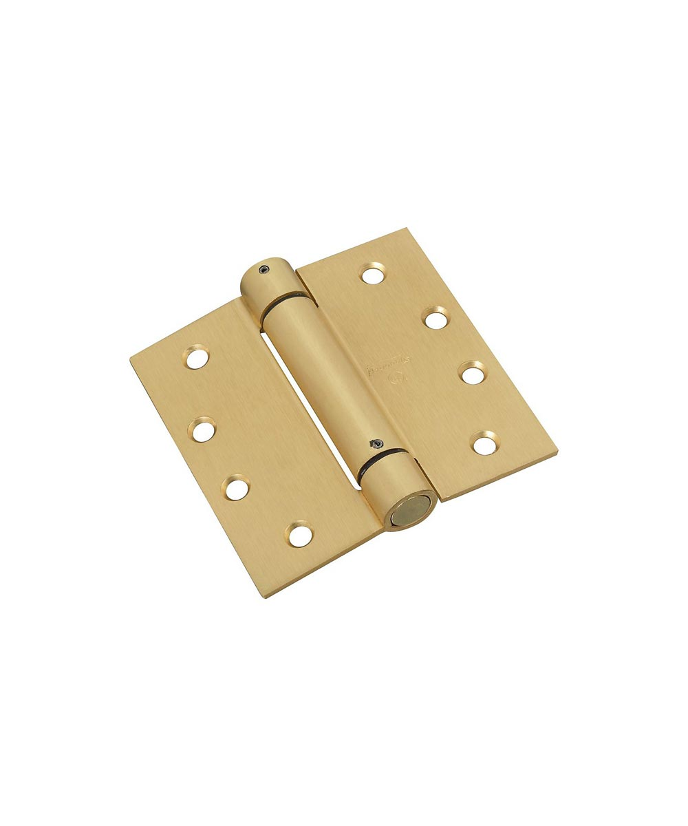 Spring Hinges 4 in.  Brass