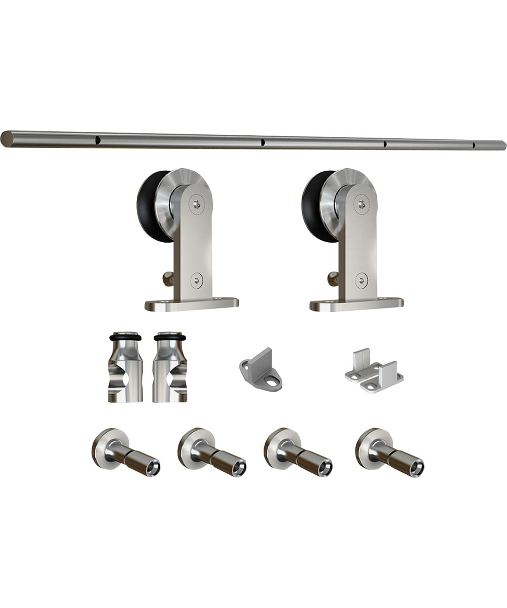 Sliding Door Hardware 72 in. SS