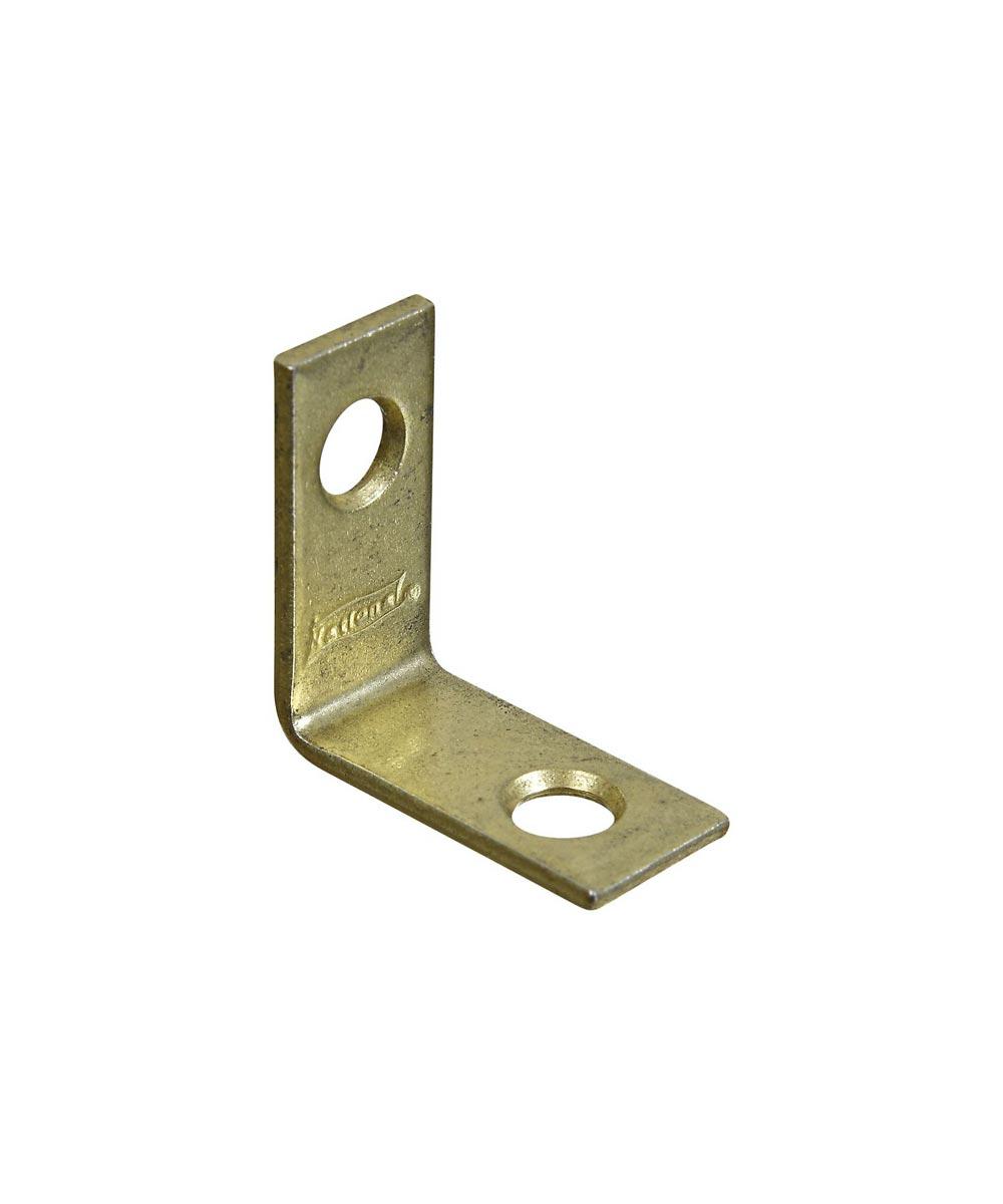 Corner Braces 1X1/2 in.  Brass