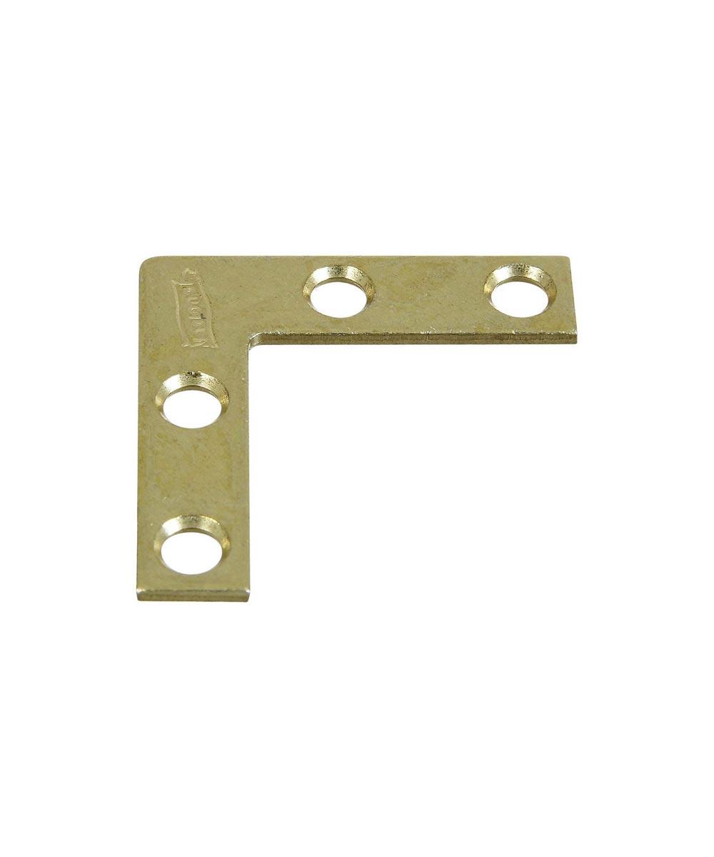 Cornr Brace 1-1/2X3/8 in.  Brass