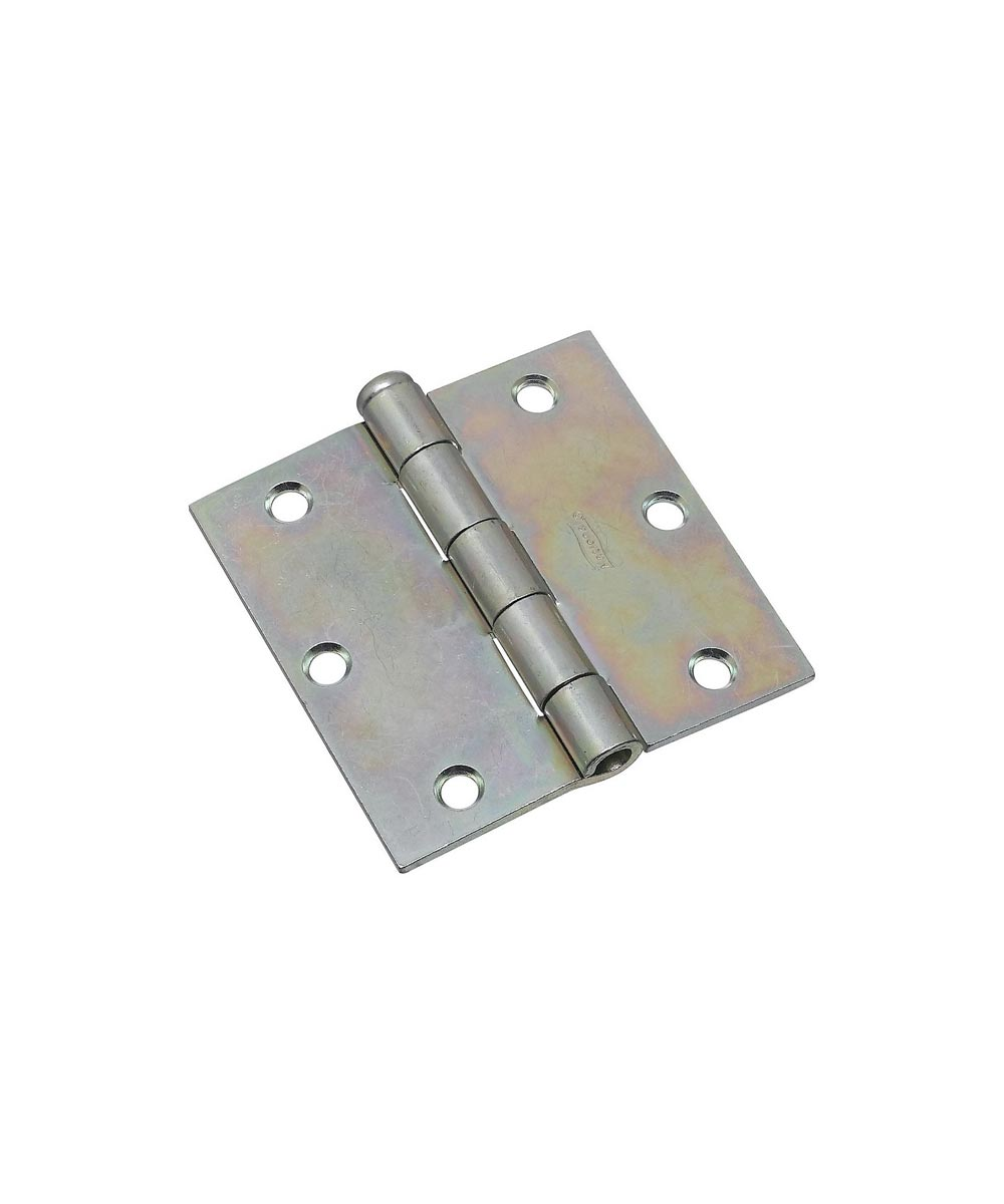 Broad Hinges 3-1/2 in. Zinc Plated
