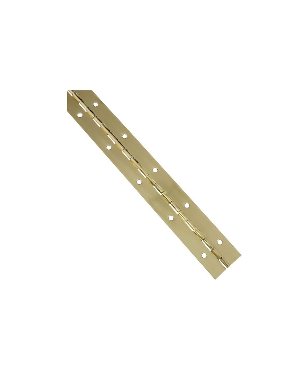 Continuous Hinge 1-1/2X12 in. Brass