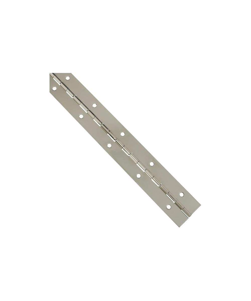Continuous Hinge 1-1/2X12 in. Nickel