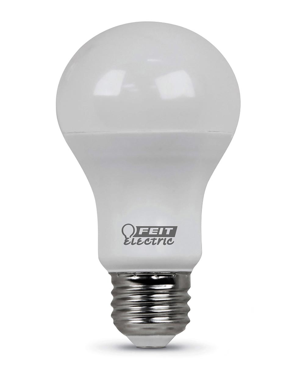 Feit Electric 9 Watt Soft White Non-Dimmable A19 LED Light Bulb 4 Pack