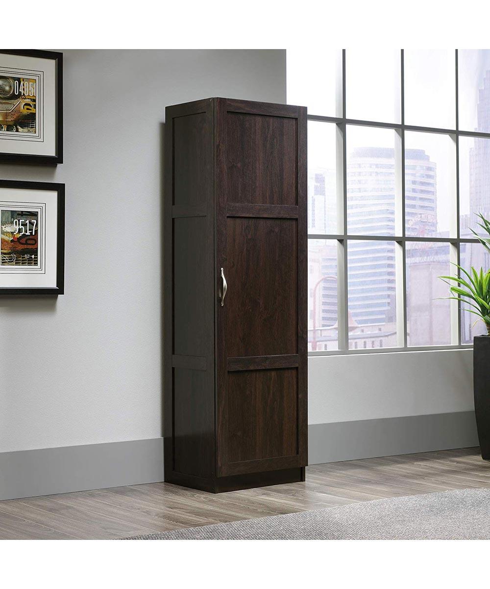 Slim Wardrobe/Storage Cabinet, Cherry