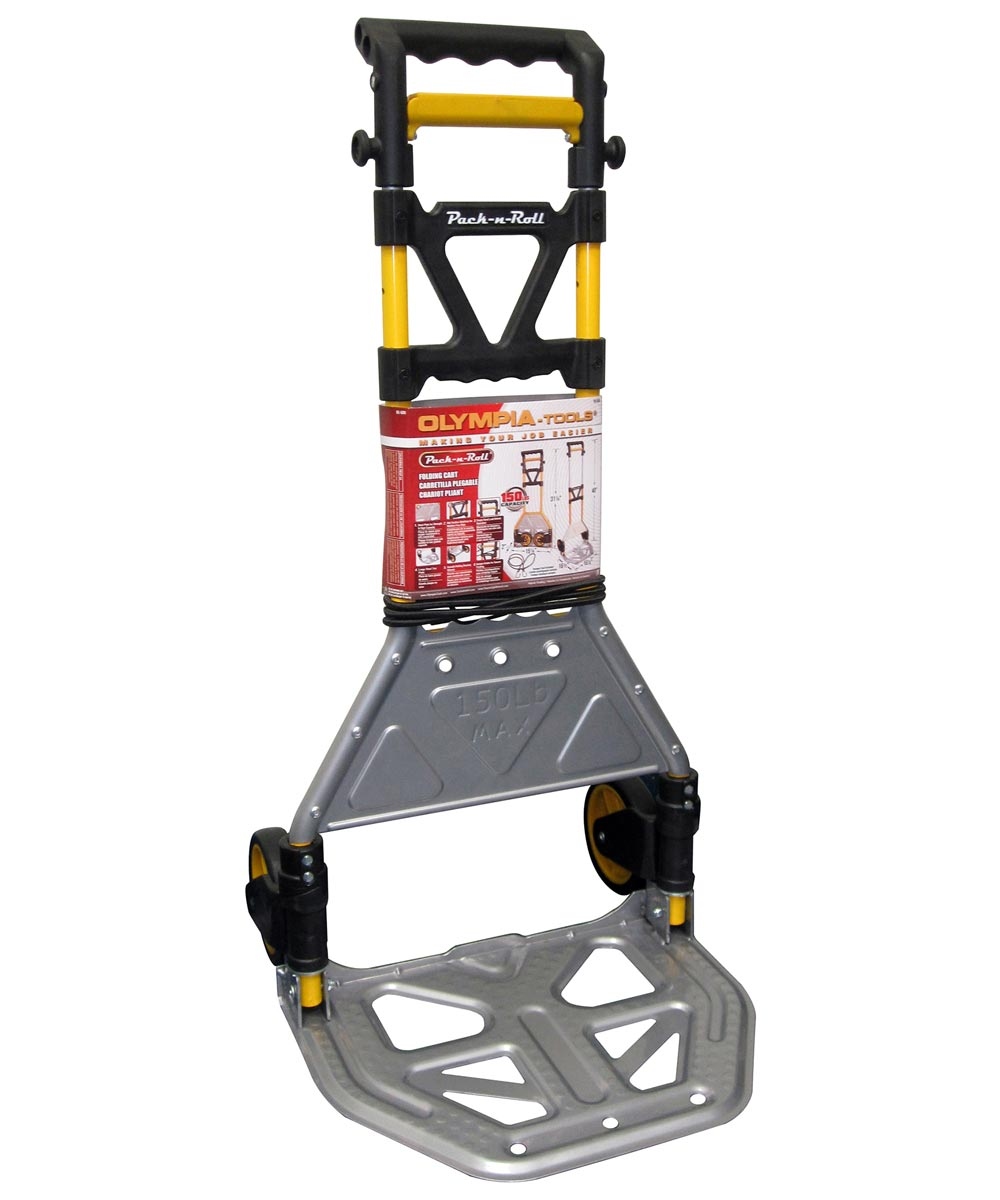 150 lb. Capacity Folding Cart With Steel Toe Plate