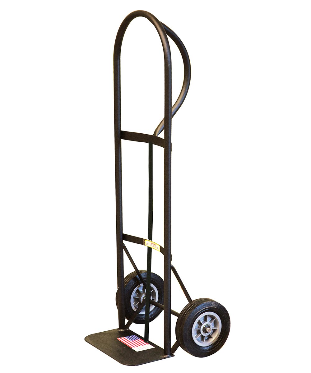 Milwaukee 600 lb. Capacity Hand Truck with P-Handle & 8 in. Puncture-Proof Tires