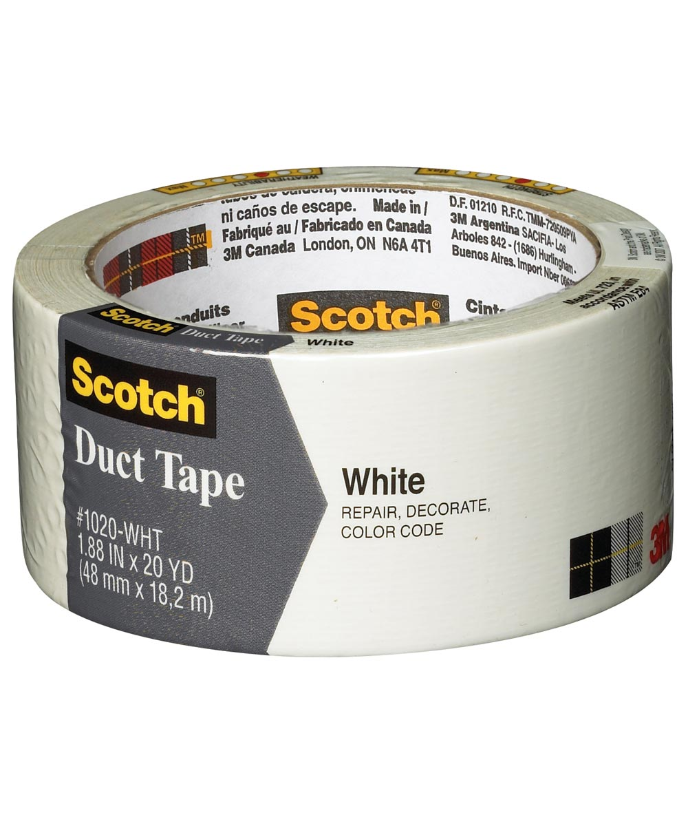 1.88 in. x 20 Yards Scotch White Duct Tape