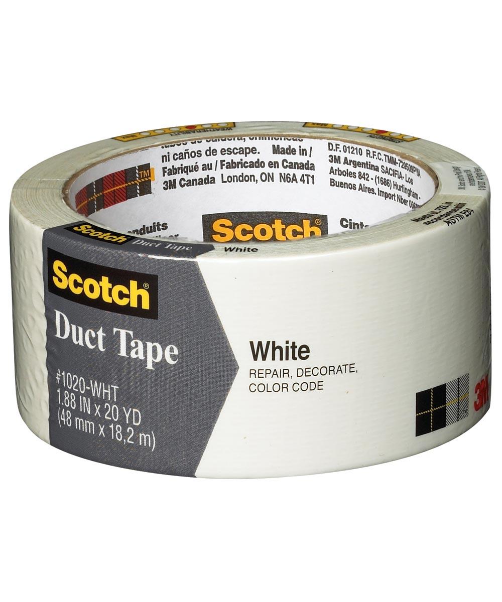 20 Yards White 20 Yards Duck Tape White