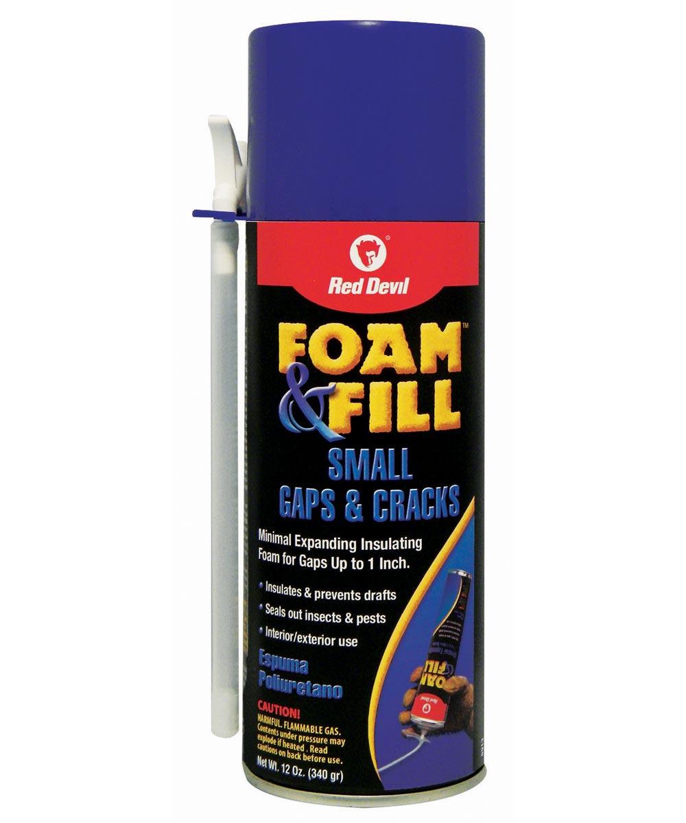 12 oz. Polyurethane Foam & Fill Small Gaps & Cracks