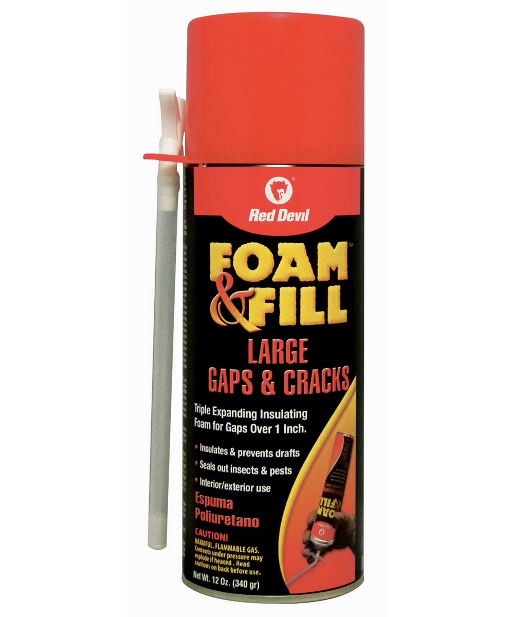 12 oz. Polyurethane Foam & Fill Large Gaps & Cracks