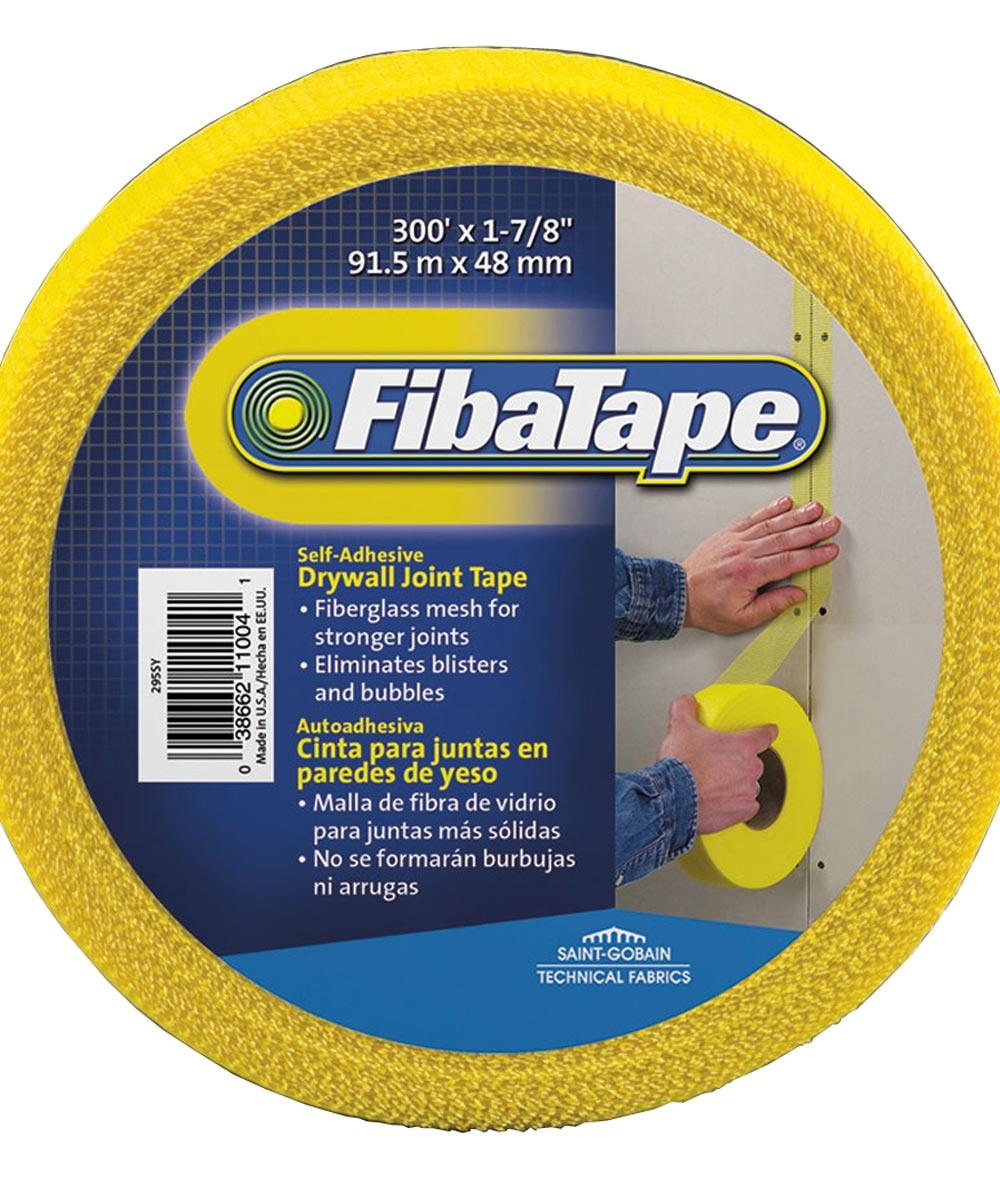 1-7/8 in. x 300 ft. Yellow Fibatape  Drywall Joint Tape