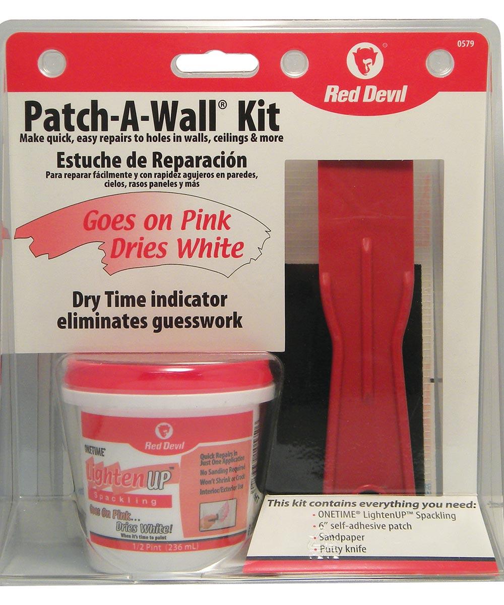 Lighten Up Wall Repair Patch Kit City Mill